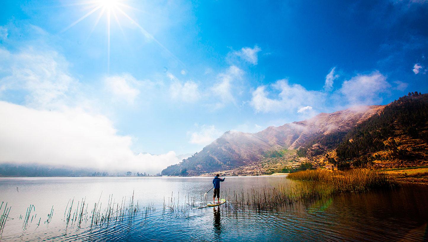 Lake Paddle Board