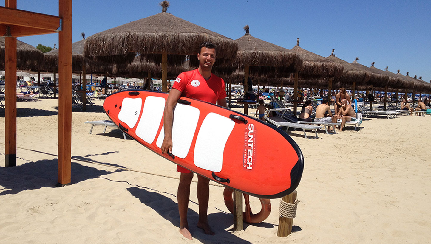 10′ x 35″ SUP Rescate