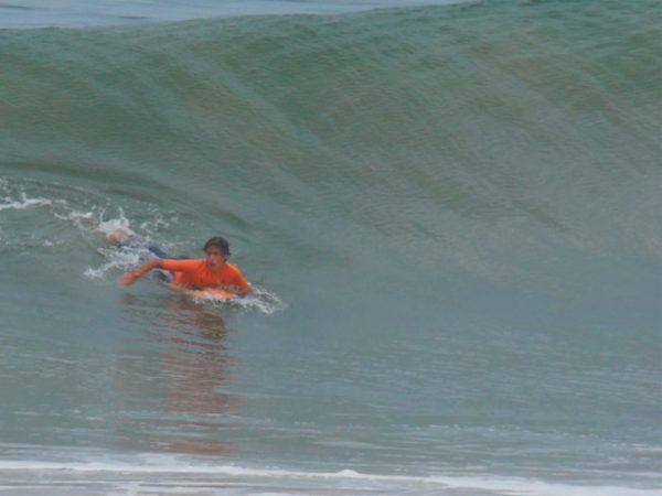 Como mejorar tu remada para agarrar una ola