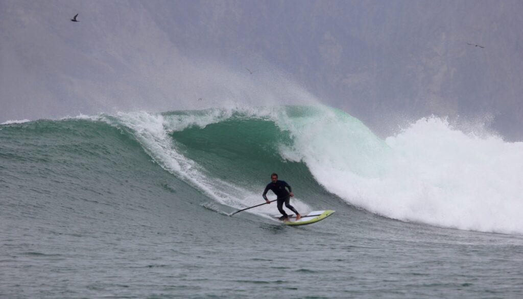 Surf Paddleboard Sunset
