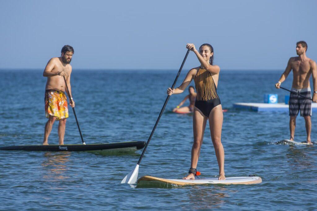 Beneficio de hacer paddle