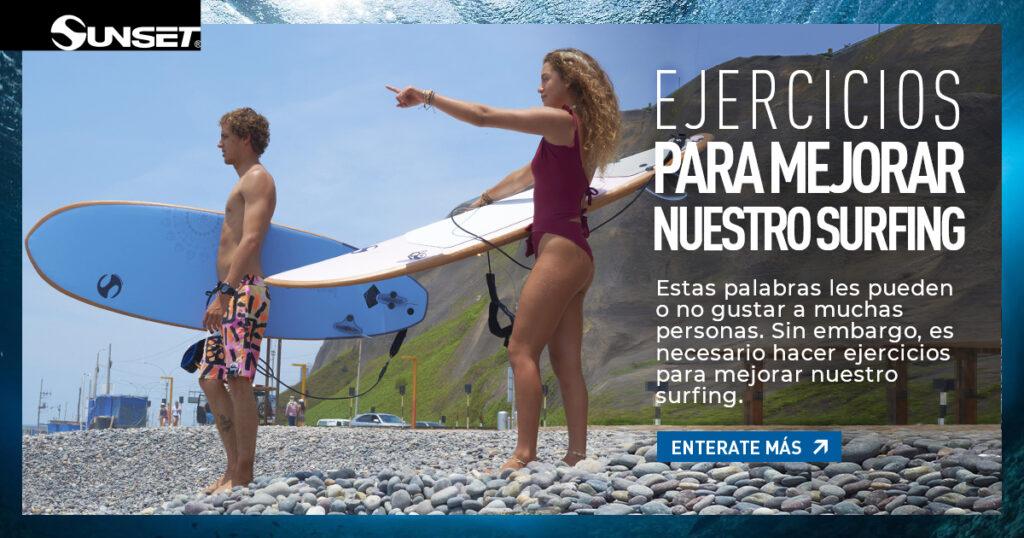 Ejercicios para surfear