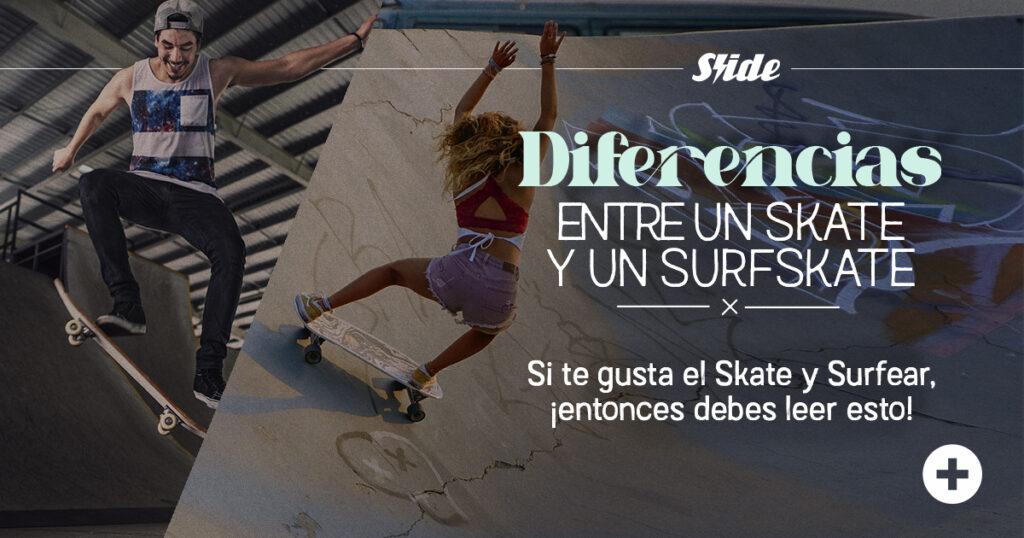 Diferencias entre surfskate y skate