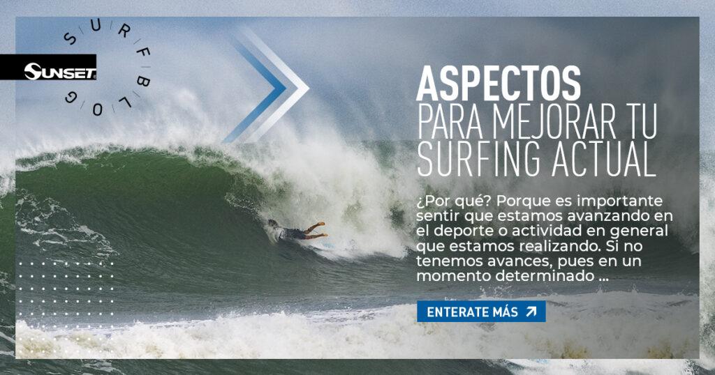 Portada de blog acerca de mejoramiento de nivel de surf